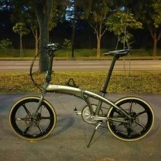 """Audi"" Brand Folding Bike"