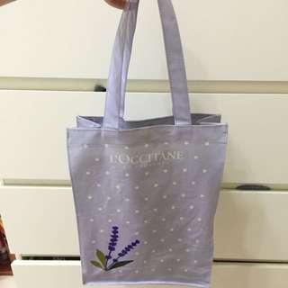 L'OCCITANE紫色薰衣草包