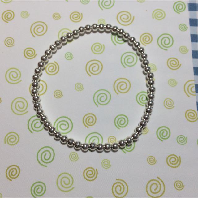 925純銀珠手鍊