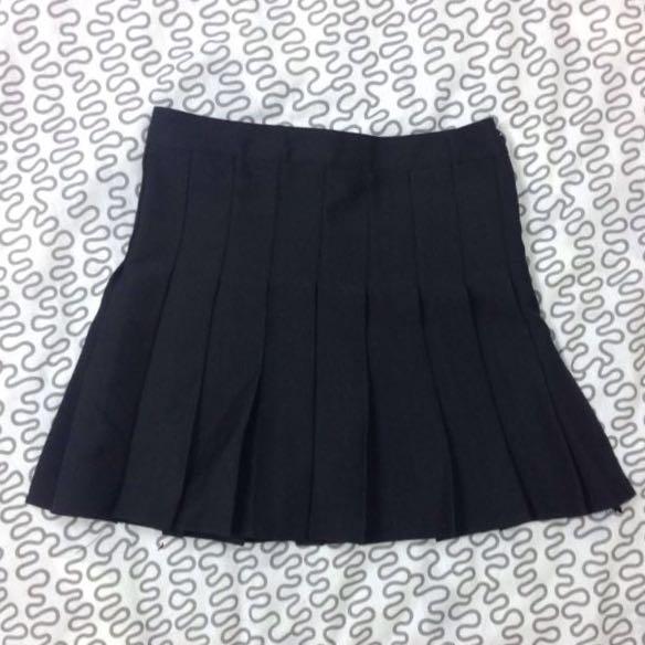 (保留中)American Apparel AA 高腰百摺短裙