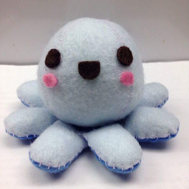 Cute Baby Octopus Plushie