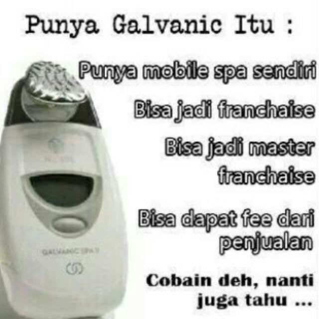 Galvanicspa Face Nuskin