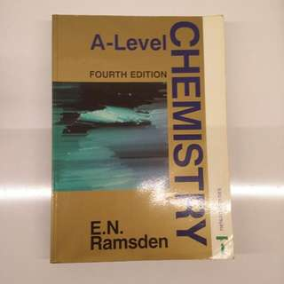 [Reserved] A-Level Chemistry Textbook