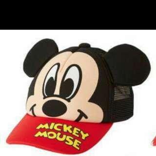 迪士尼 米奇 透氣帽