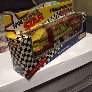 Kellogg's Matchbox Transporters limited Edition
