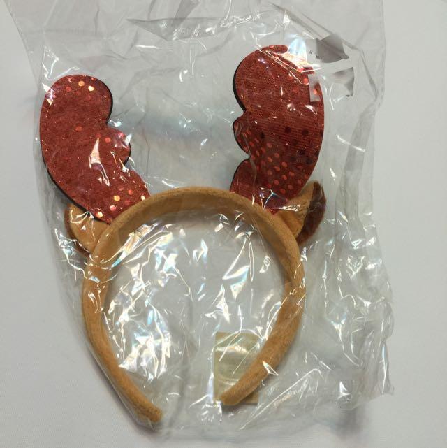 麋鹿聖誕髮圈全新