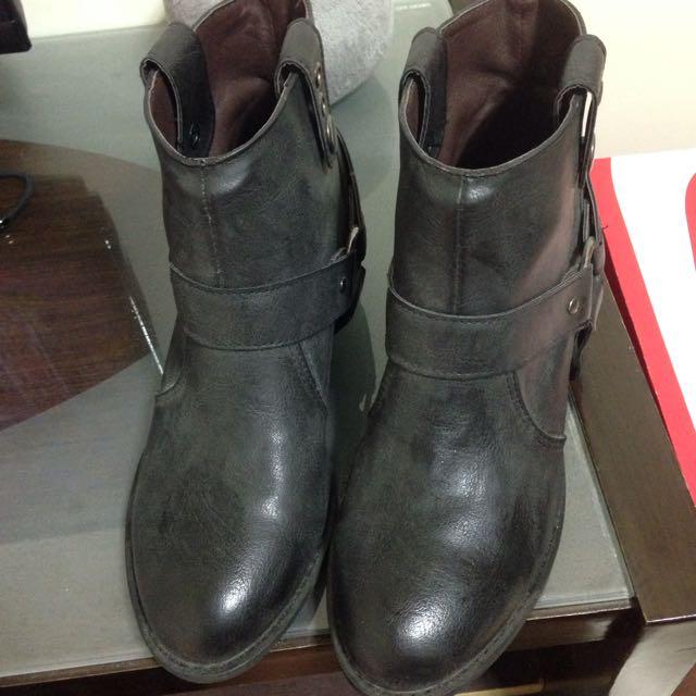 軍靴 尖頭靴 牛津靴 韓製 正韓