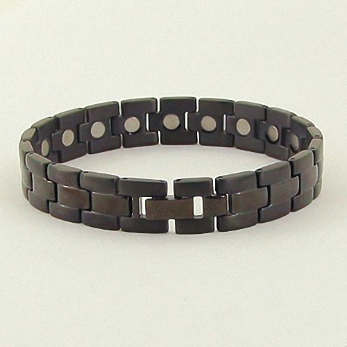 Fashion Titanium Magnetic Health Energy Bracelet NL8194 - Relieve Stress, Improve Blood Circulation, More Restful Sleep and Pain Relief.