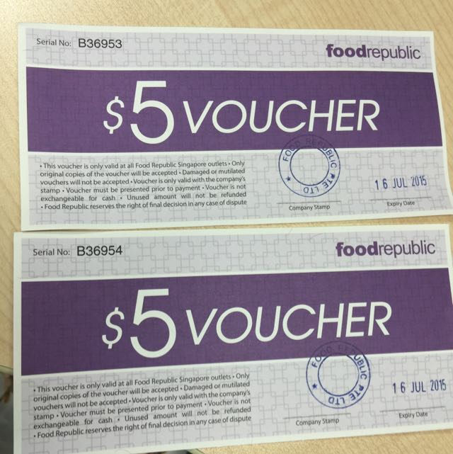Good Republic $10 Vouchers Selling At $8