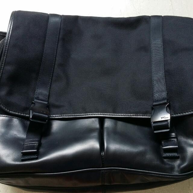 12da941ad654 Ralph Lauren Black Label Nlyon Messenger Bag