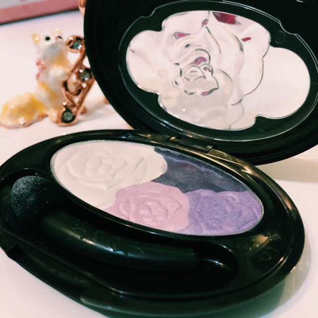 韓*VOV 粉紫眼影盤
