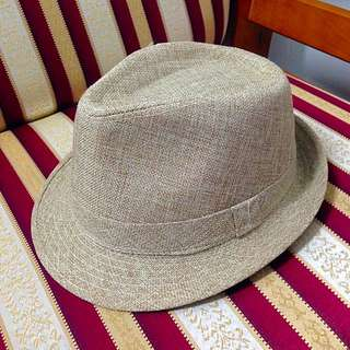 夏戀麻紳士帽