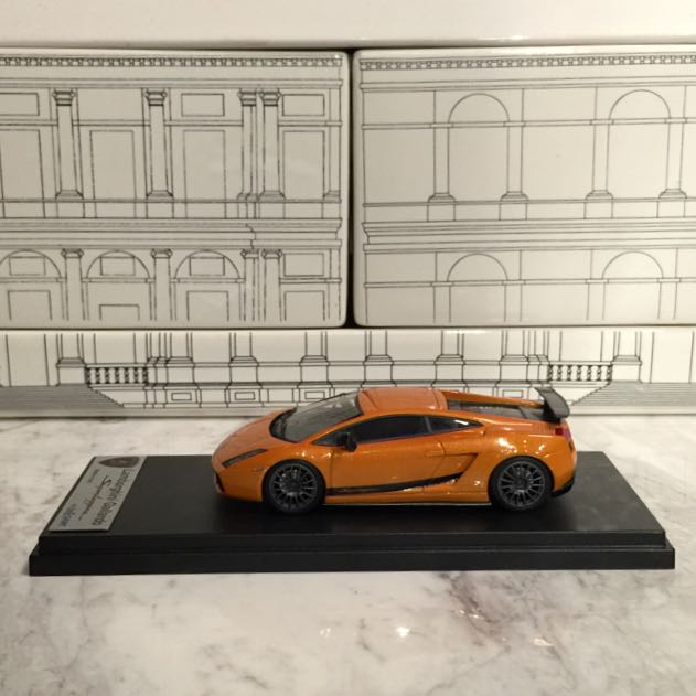 1 43 Looksmart Lamborghini Gallardo Superleggera Orange Borealins