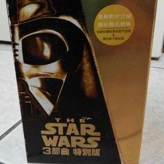 星際大戰三部曲 VHS