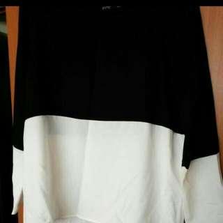 Zara Colourblock Top
