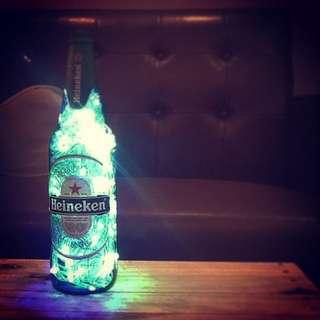 海尼根酒瓶 氣氛燈/裝飾燈/夜燈