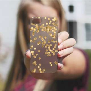 Brand New Casetify Limited Edition Glitter Print Iphone 5 Case