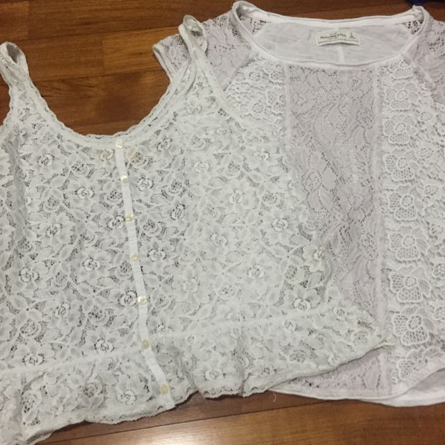 Abercrombie & Fitch, Hollister Lace Tops