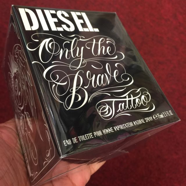Diesel Only The Brave Tattoo Perfume 75ml 80 Mens Fashion On