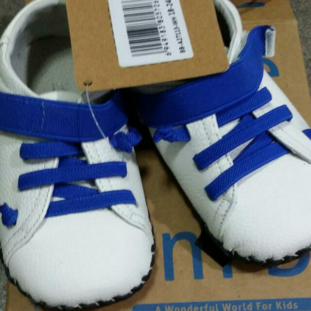 Infant Shoe (White/Blue)