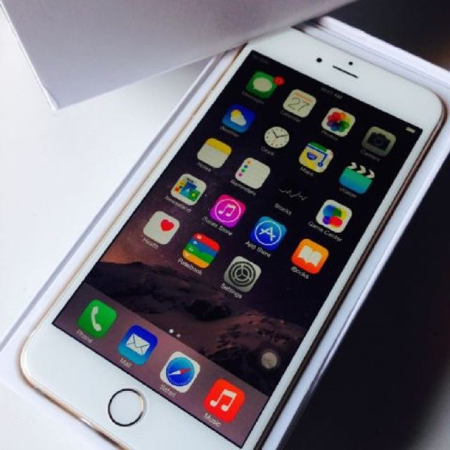 Iphone 6+ Second 16gb gold