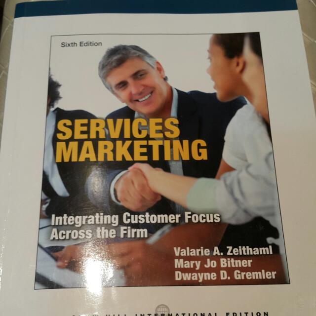 「原文」Services Marketing服務行銷
