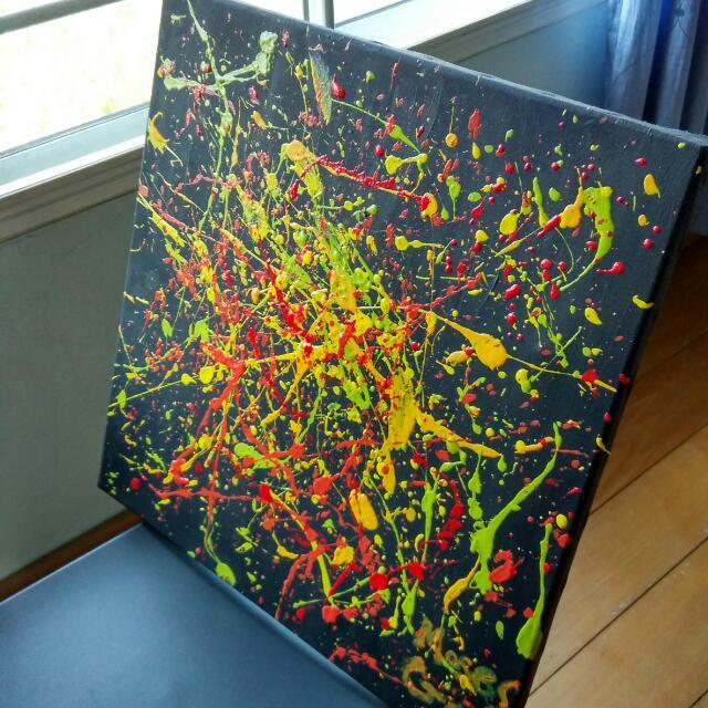 Splat Painting
