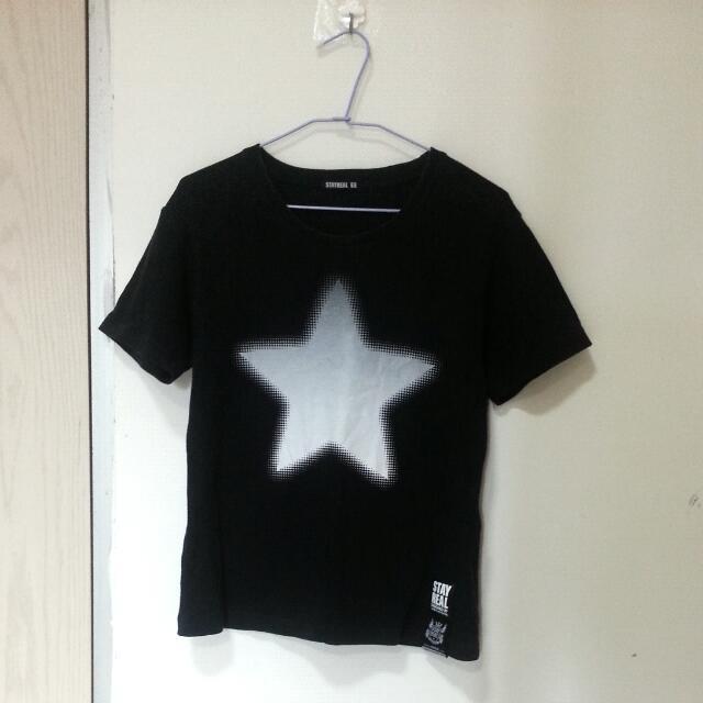 Stayreal 漸層Tshirt