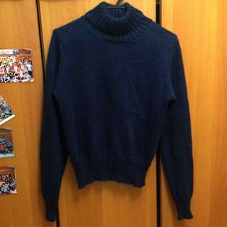日本製翻領毛衣