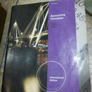 accounting principles 會計 課本