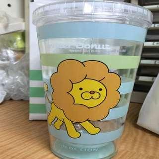 甜甜圈獅水杯