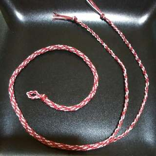 {Reserved} Braided Friendship Bracelet/Anklet