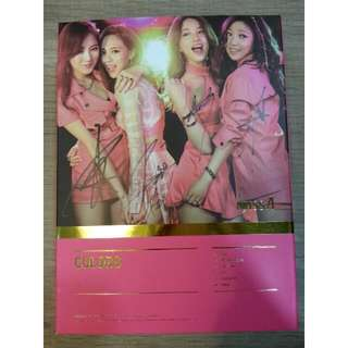PRICE REDUCED [Signed CD] Signed Miss A THE 7TH PROJECT 'COLORS' (Mwave Exclusive)