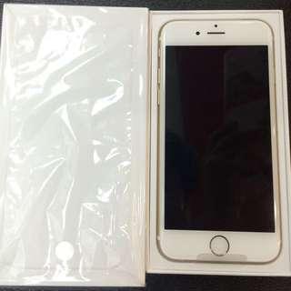 全新拆封品iphone 6  4.7吋 16G 金色