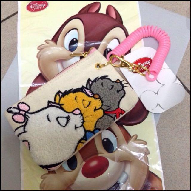日本🇯🇵迪士尼瑪麗貓✨零錢卡夾小包