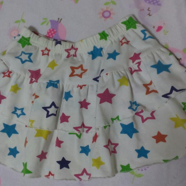 二手星星短裙