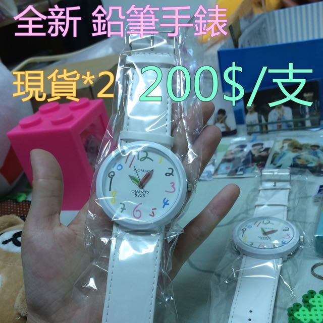 全新鉛筆造型錶  現貨