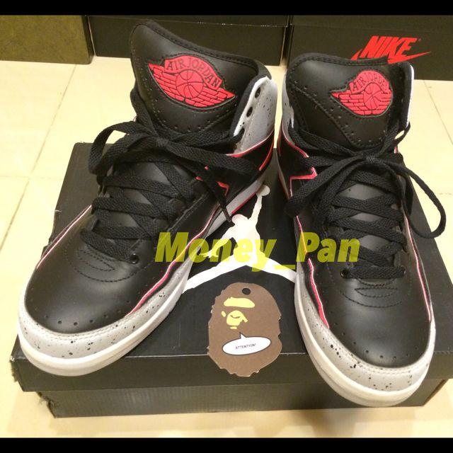 Air Jordan 2 紅外線