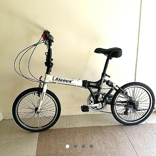 Aleoca Folding Bike (reserved)