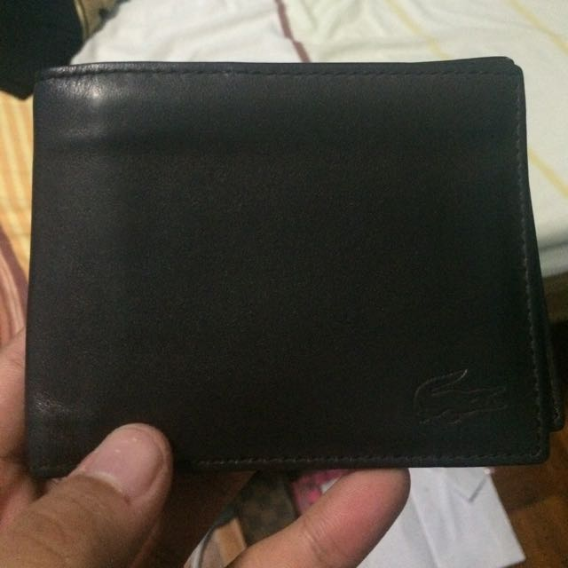 Authentic Lacoste Leather Lacoste Wallet