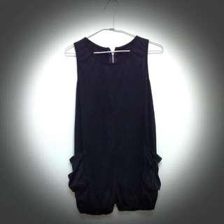 👉含運👈【二手】黑色連身短褲