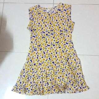 Missypixie Drop waist Dress Size M
