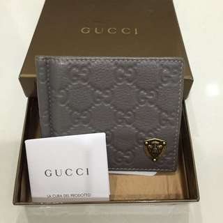 100% Authentic Gucci Money Clip Wallet