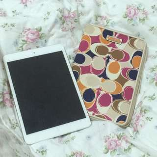 二手 Coach iPad mini 保護殼