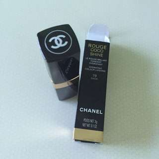 Chanel Lipstick colour 79 (Light Rosy Pink)