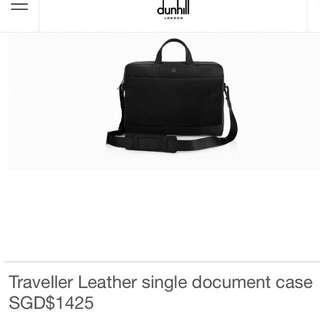 Brand New Dunhill Working Bag