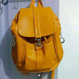 PVC leather Backpack