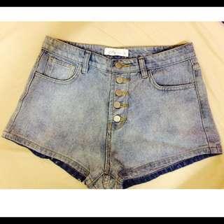 PAZZO 灰色M號短褲