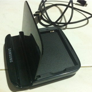 Samsung Note 2 Battery Cradle Charger with Battery