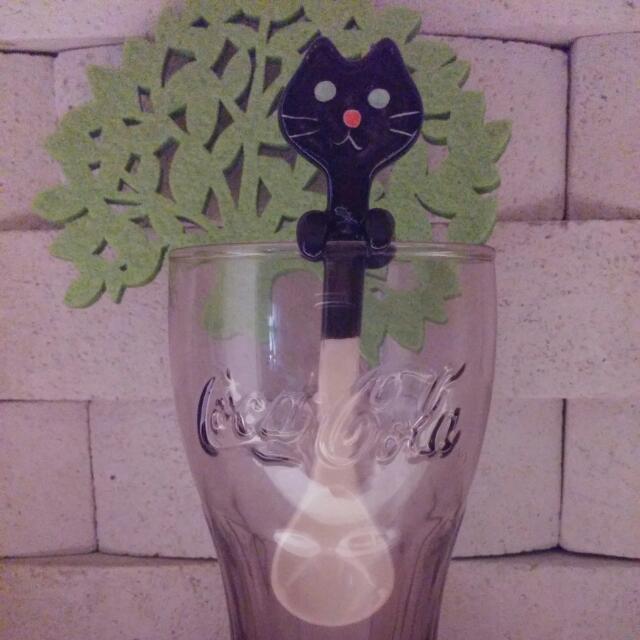 黑貓造型攪拌湯匙